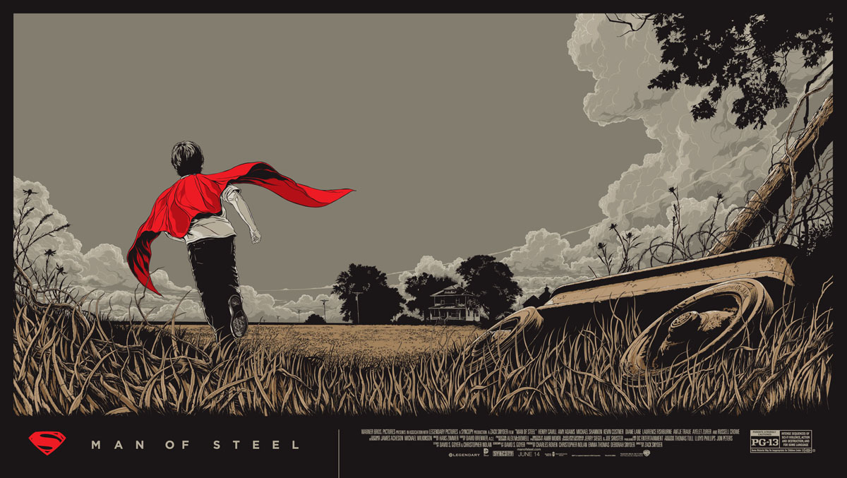 man of steel mondo - Halloween Mondo Poster