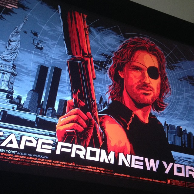 Escape From New York Poster.Escape From New York Poster For Mondo At Comic Con Been Sitting On